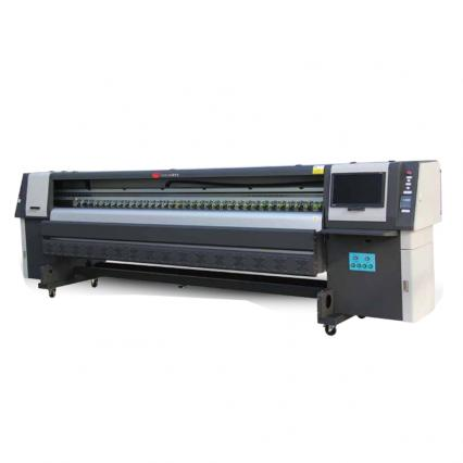 solvent printer with Konica 512I print heads