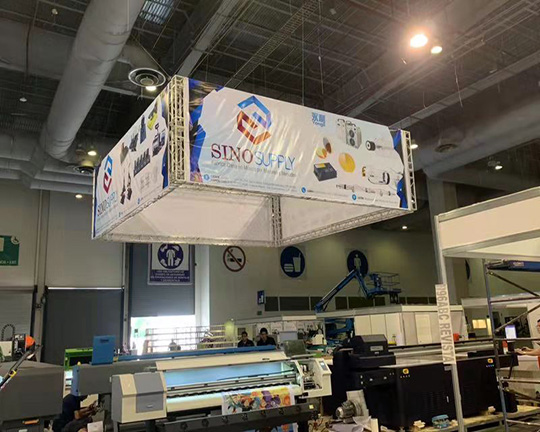 First Day in Mexico Fespa Exhibition