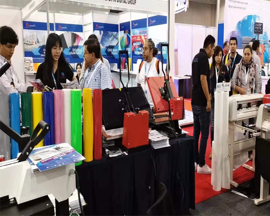 Sino Supply in Mexico Fespa Exhibition
