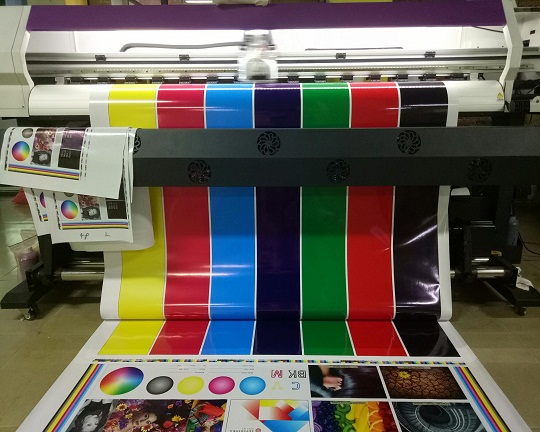 6ft Eco solvent large format printer with XP600 Print head